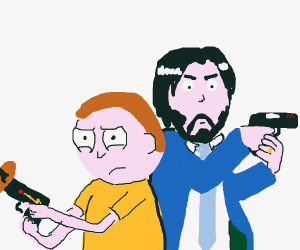 John Wick and Morty