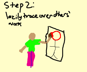 Step 1: borrow someone's art style
