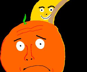 worried orange