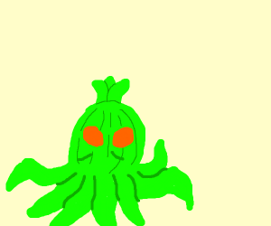 Lovecraftian Cthullu Onion