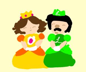 princess daisy and luigi
