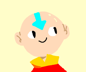 That avatar kid with a smile and no nose