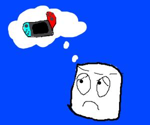 marshmallow wants a nintendo switch