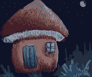 Massive Toadstool House