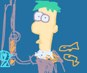 Ferb Goes Fishing