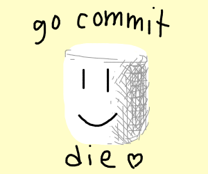 roblox noob want to go commit die
