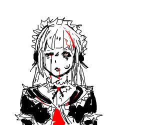 Possessed kawaii girl
