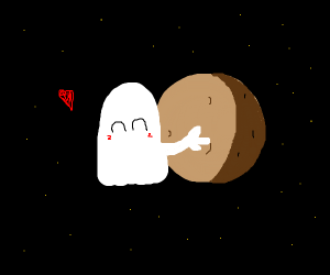 Ghost hugs planets