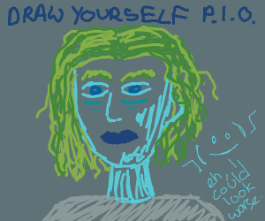 draw yourself P.I.O