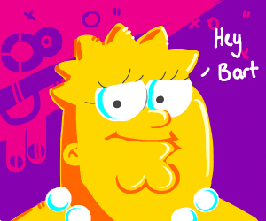 Peter Griffin/ lisa simpson