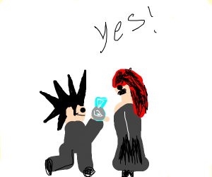 Goth proposal for date