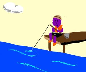 Thanos on a Fishing Trip