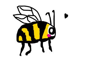 A happy bee :D
