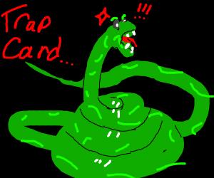voldemort's snake nagini got triggered