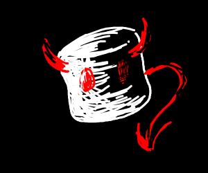 demonic marshmallow