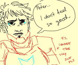 Iron-man dies instead of spiderman
