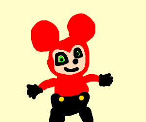Unconventional Mickey Mouse