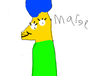 Old School Marge
