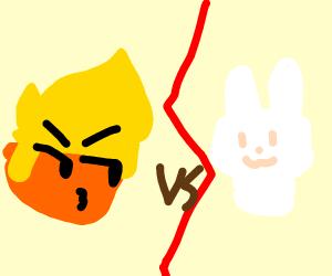 Trump vs Rabbit