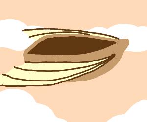 Steampunk flying boat