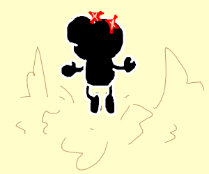 Mr. Game & Watch has ascended
