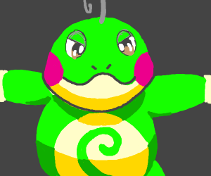 politoed!! (aka the cutest pokemon)