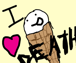 Icecream wants to die