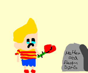lucas from mother, going to mothers grave