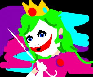Princess Peach vs. The Joker