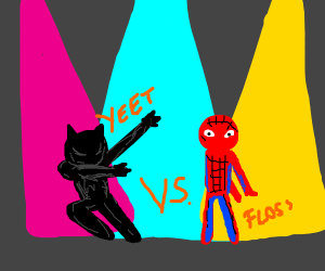 Black Panther in an explosive dance-off