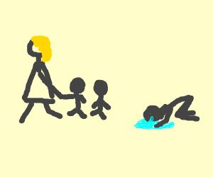 Karen took the fricking kids