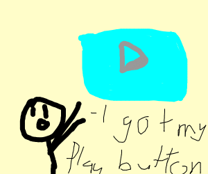 recieving a diamond play button