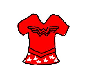 Wonder Woman's shirt?