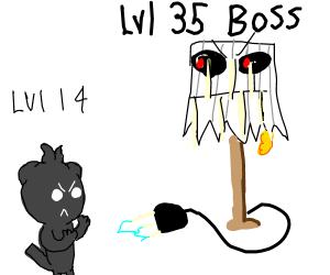 Lvl 35 boss