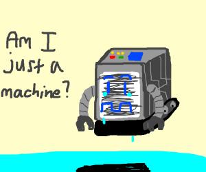 Depressed robot cube