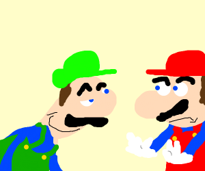 luigi wants to be in an incect relationship