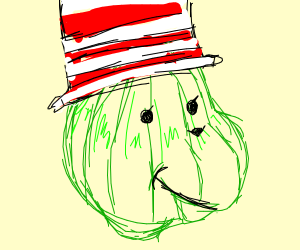 Dr. Seuss style Watermelon