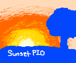 Sun set (pass it on)
