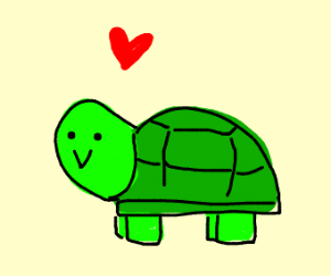 its a turtle i guess?