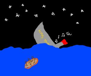 titanic sinks RIGHT NOW