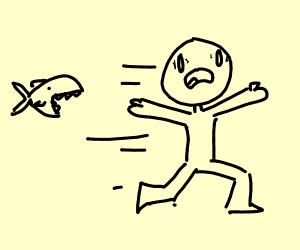 Dodging a Piranha