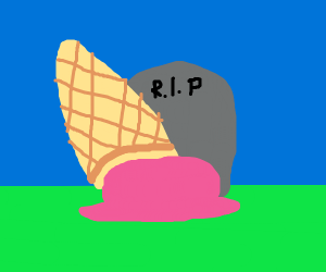 Ice cream graveyard