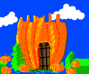 pumpkin fortress
