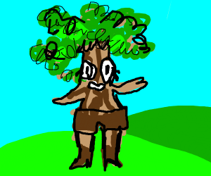 trees with legs