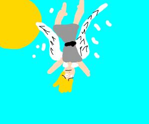 """I believe i can fly"" - Ikaros"