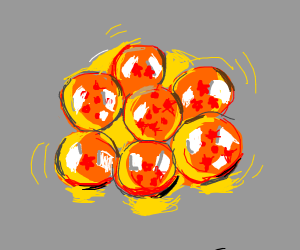 Balls from dragon ball z
