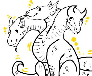 Cute yellow hydra