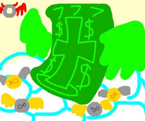 God is a money