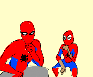 2 spider mens