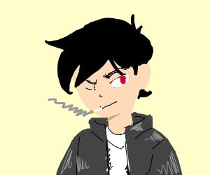 Evil anime boyo